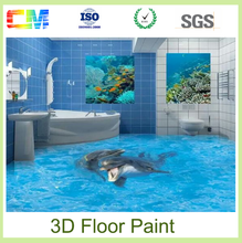 Paint prices waterproof chemicals epoxy resin 3d vinyl flooring paint