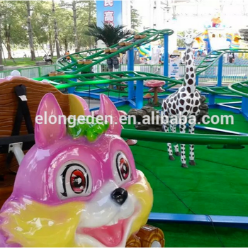 Factory price roller coaster forest amusement park ride/outdoor amusement park