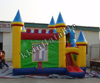 Big Inflatable Bouncer Slide Combo for Kids Home Party Rent