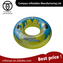 Hot Selling Oem Colorful Swim Ring Inflatable Donut Pool Float