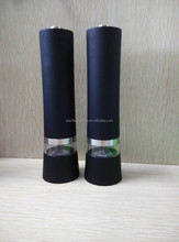 Stainless steel electric salt & pepper mill Model No. EB834-2
