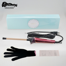 LED Hair curling iron ceramic hair curler ionic curling hair styler