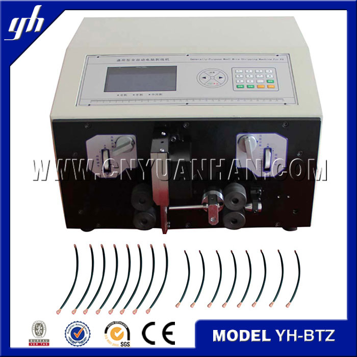 cable wire stripping machines/coaxial cable stripping machine /electrical cable making equipment