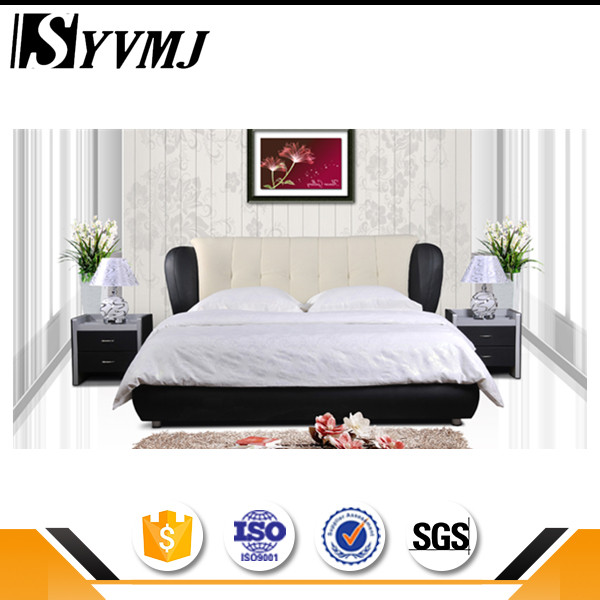 China manufacturer royal upholstery modern glossy tv leather twin bed for popular demands for sale