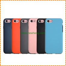 High Quality skin full leather soft tpu phone protector case for iphone 7