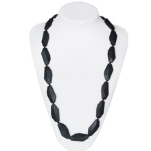 Non-toxic BPA Free Silicone Plastic Bead Necklace for Kids