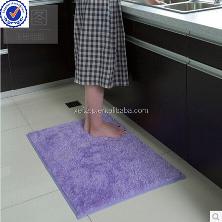 Modern microfiber water kitchen anti-fatigue floor mat