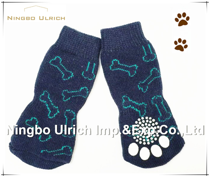 S34 fashion pet product outdoor dog socks