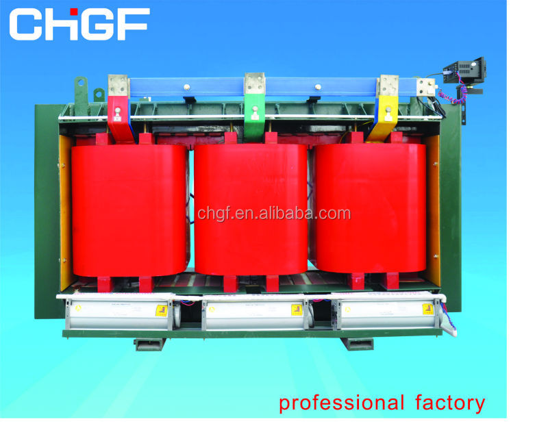 SCH15 epoxy resin casting dry type amorphous alloy core transformer
