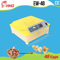 Transparent Design Automatic Incubator Industrial For Chick With 48 Eggs