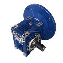 Stable worm gearbox for textile industries
