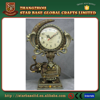 Brand new custom resin mechanical clock with great price