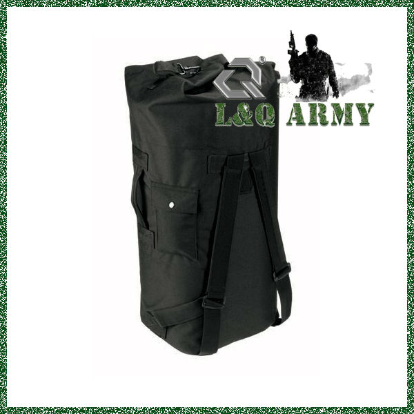 Australia Black Military Double Strap Duffle Bag,Military kit bag,military canvas bag