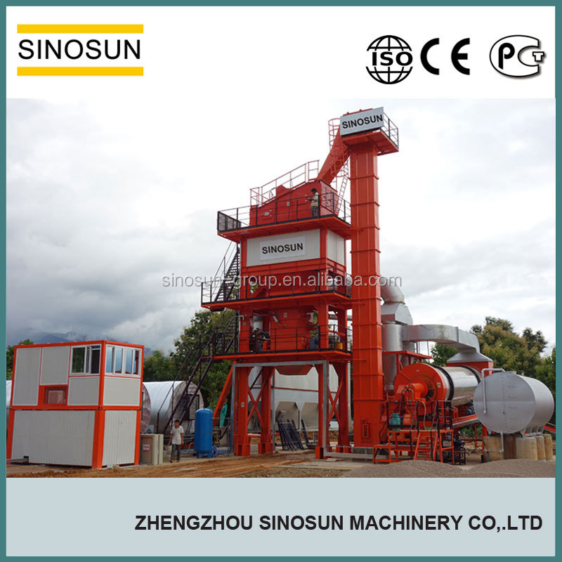 China leading asphalt mixing plant supplier,120TPH asphalt plant hot sale