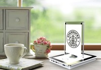 menu power bank 20000mah 4 usb output phone wireless charger for bar restaurant coffee shop starbuck