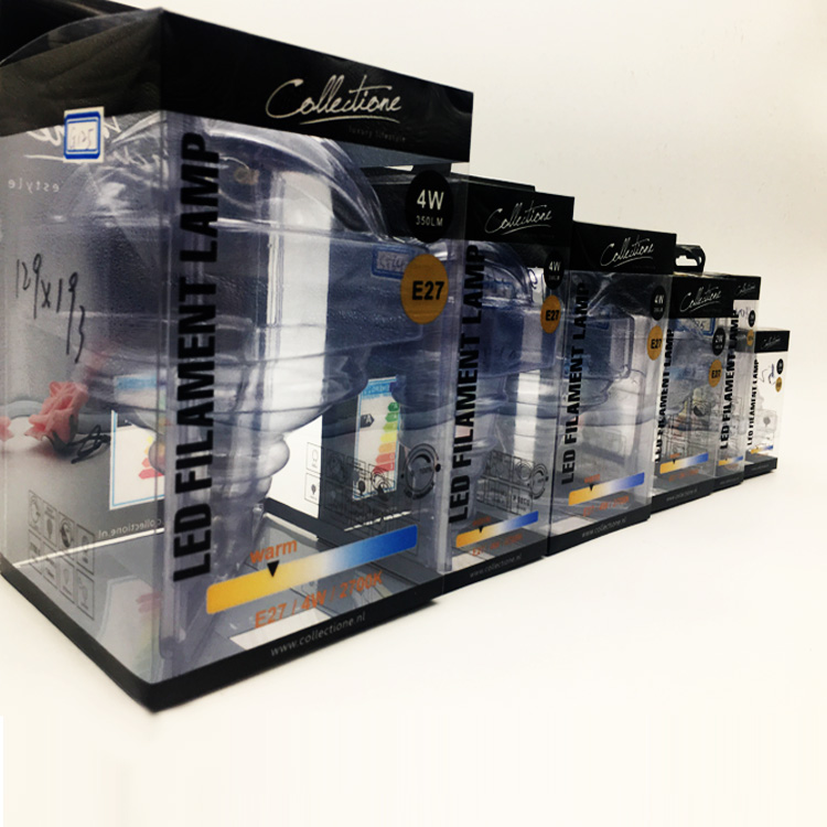 High Quality Custom Printed Plastic Transparent Clear PVC Box