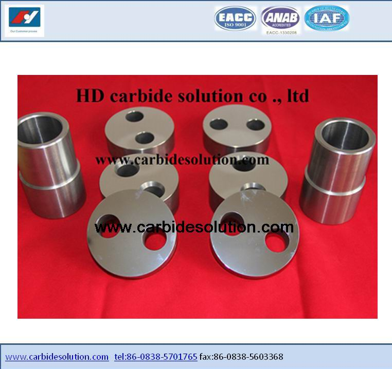 API Tungsten carbide wellhead orifice plate.