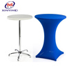 Manufacturer cheap price plastic high bar cocktail table