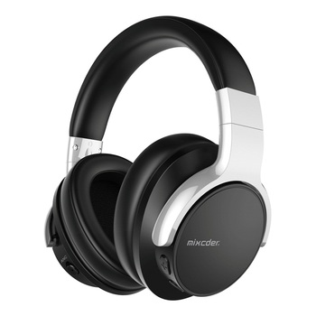 AUSDOM Mixcder Amazon's Choice Multiple Languages Carry Case Powerful Bass Active Noise Cancelling Wireless Headphones With Mic