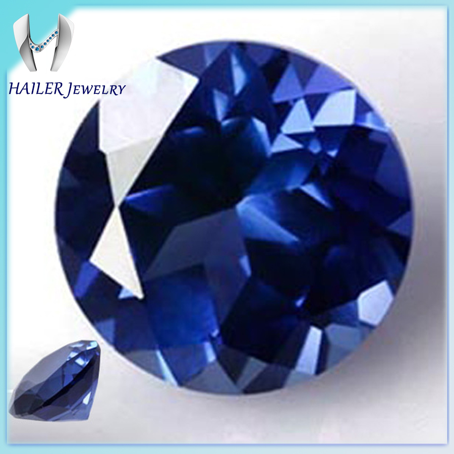 Good polished round cut loose neelam sapphire stones