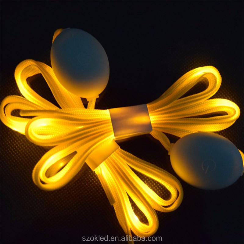 Luminous Shoelace Glow Casual Led Shoes Strings Athletic Shoes Party Camping Shoelaces For Growing Canvas Shoes