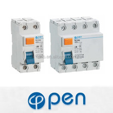 china manufacturer low voltage residual current 63 amp rccb 2 pole 4 pole types earth leakage electrical circuit breaker