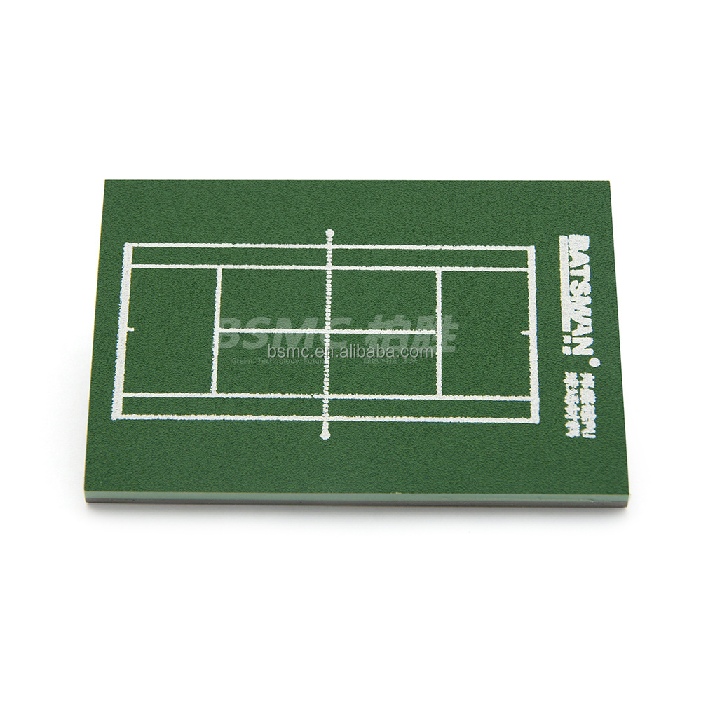 China Outdoor Stadium ITF Certificated Wet Poured SPU Synthetic Tennis Court Surface Sports Liquid Flooring Material Price