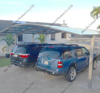 Metal frame carport roofing material for car shed