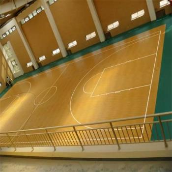 Indoor Basketball Court Maple Wood Floor