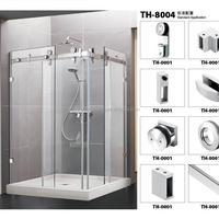 2014 Newest Sliding Door Bathroom Shower