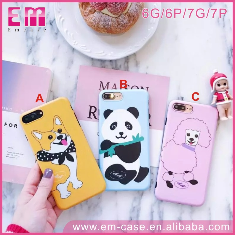 Panda Dog Phone Case for iPhone 7 Back Cover Goat Case for iPhone 7 7 plus