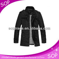 Latest waterproof business men jacket casual jacket