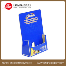 supermarket paper store display paperboard brochure holder
