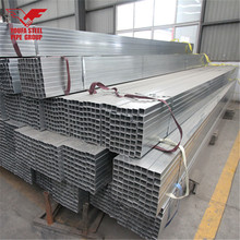 Galvanized Steel Square Tube for Construction , Structure , Greenhouse , Machinery