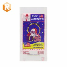 Special Christmas quality parboiled rice,/American rice bag 25kg package with bopp laminated bag