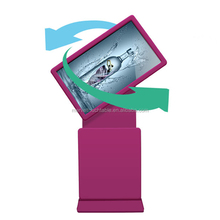 42 inch lcd floor kiosk rotating touch screen kiosk all in one computer digital totem advertising