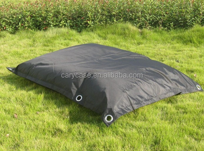 Flexible Comfortable adults bean bag chair with belts, SAFE outdoor beanbag furniture sofa seat
