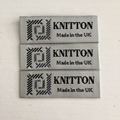 Free Sample High Quality Custom Woven Clothing Label Woven Labels