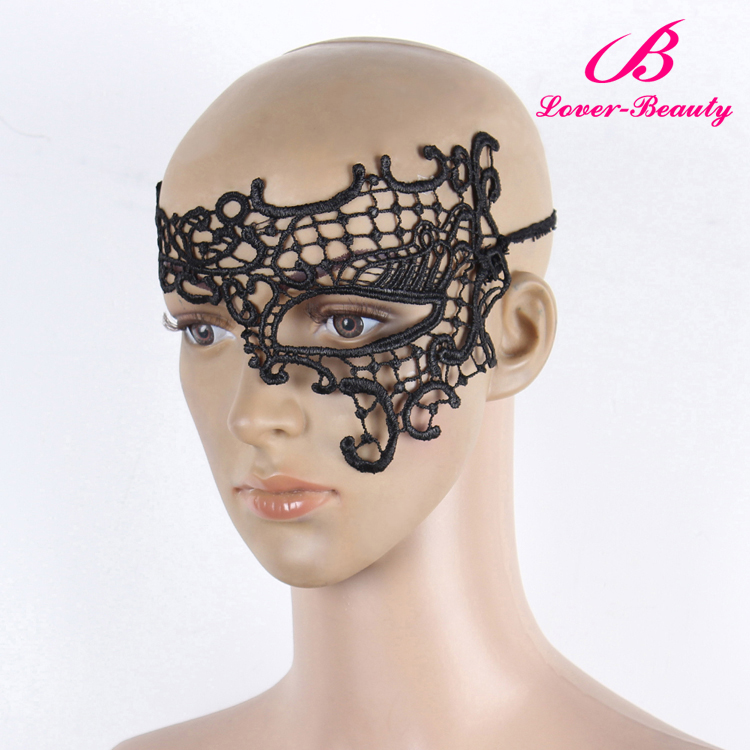 Low price women lace handicraft masks decorations party mask