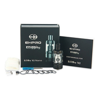 original Ehpro tank New released!!! original Ehpro atomizer billow v2 nano/RTA atomizer, 3ml capacity billow v2 nano