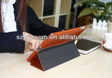 Genuine leather flip case for ipad 2/3/4,for i pad3 case accessories