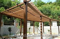 China Outdoor Wpc Comstruction Wood Plastic Composite Pergola