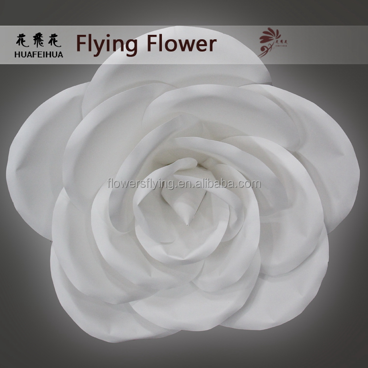 High Polished Supreme Quality pure white rose flower artificial