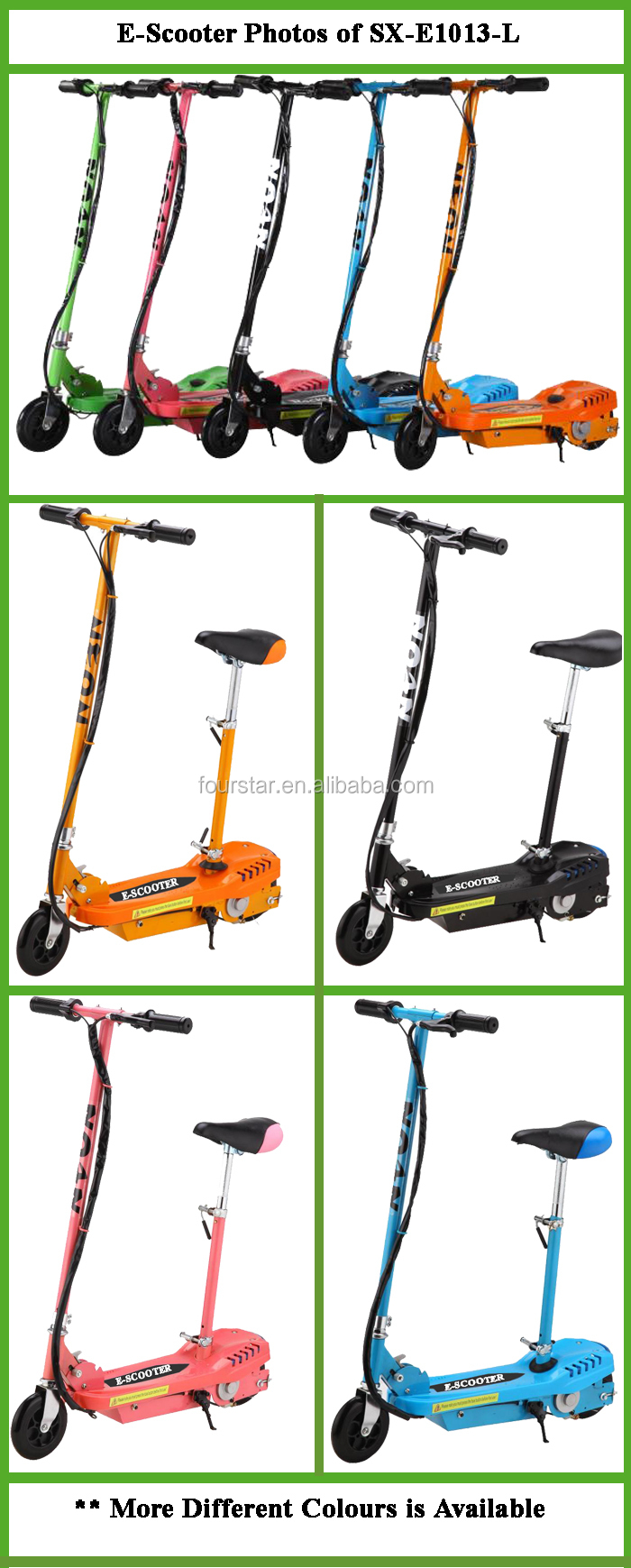 Cheap Scooter Electric Powered For Children with Lights SX-E1013-L