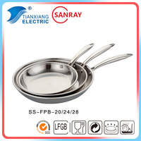 Non Stick Double Layer Stainless Steel