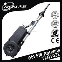 Multi-mount base interchangable automatic am fm radio antenna /car antenna amplifier power antenna TLA1037(OEM manufaturer)