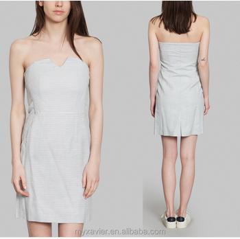 White boob tube dresses private