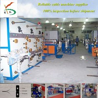 50 soft optical cable production line+24heads cage stranding machine