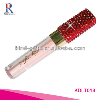 Bling bling rhinestone lip gloss tubes wholesale