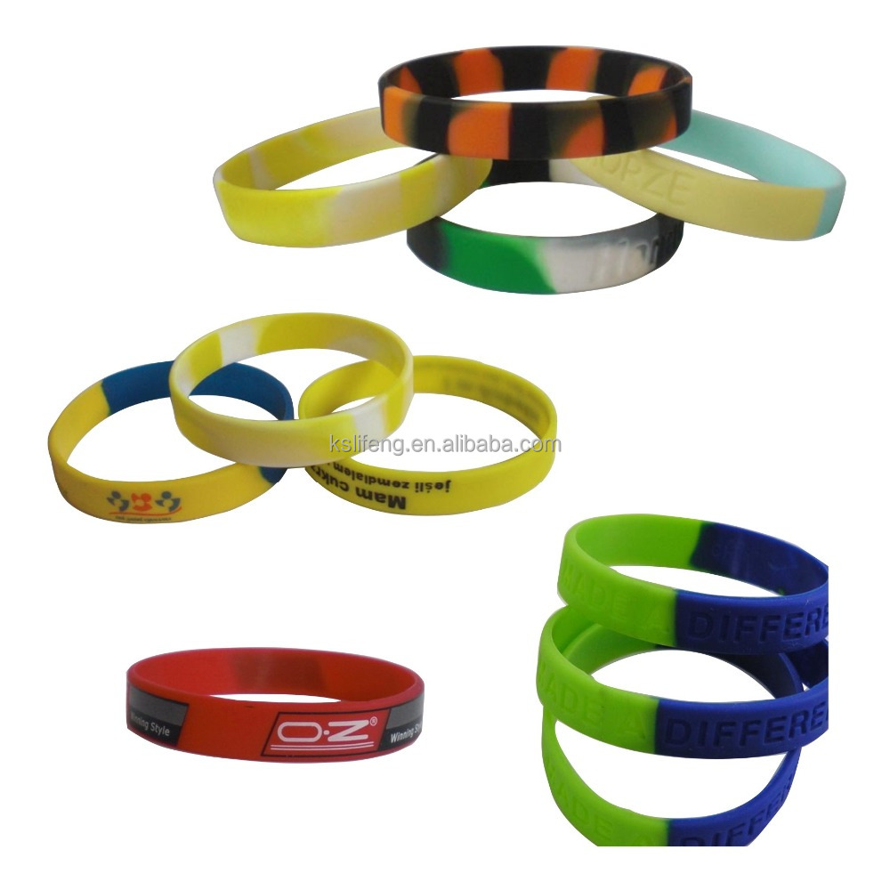 wristbands silicone cheap custom silicone bracelet